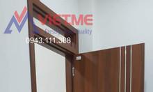 Chuyên thi công, lắp đặt cửa gỗ nhựa composite chịu nước