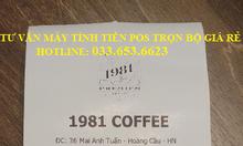 Bán máy tính tiền Pos cho quán trà sữa tại Long An
