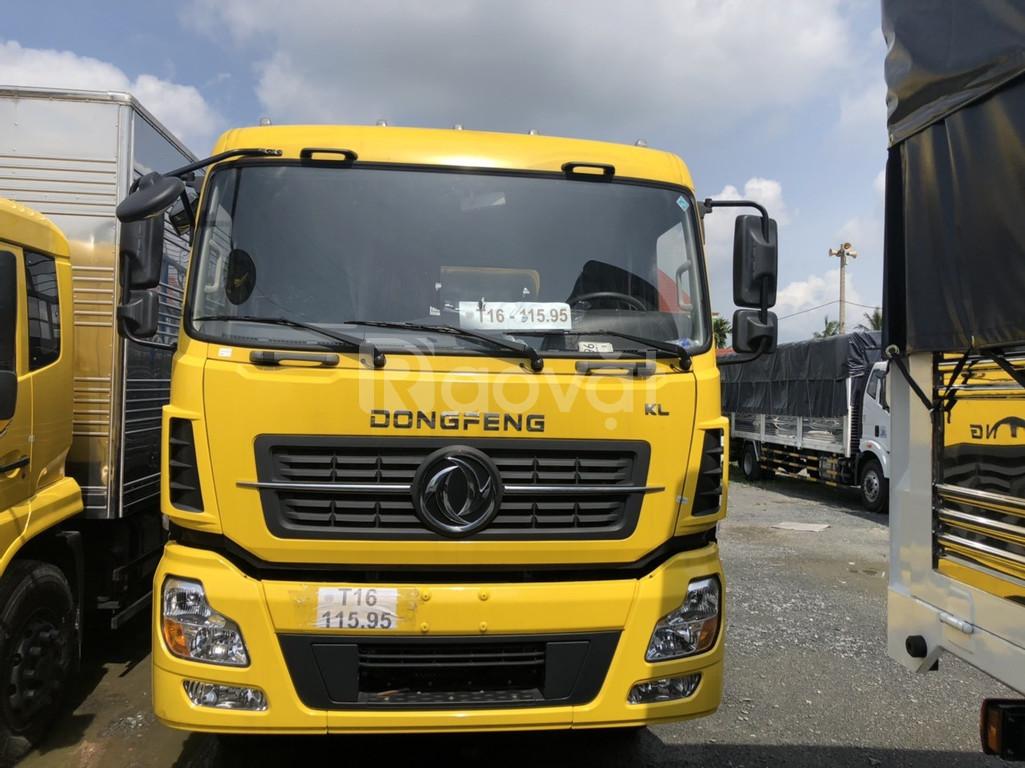 Giá xe tải 4 Chân Dongfeng 18T giá bán xe 4 chân Dongfeng 18T