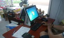 Máy tính tiền 2 màn hình tại Bình Phước cho shop sữa bỉm giá rẻ