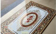 Thảm gạch phòng khách đẹp sang trọng