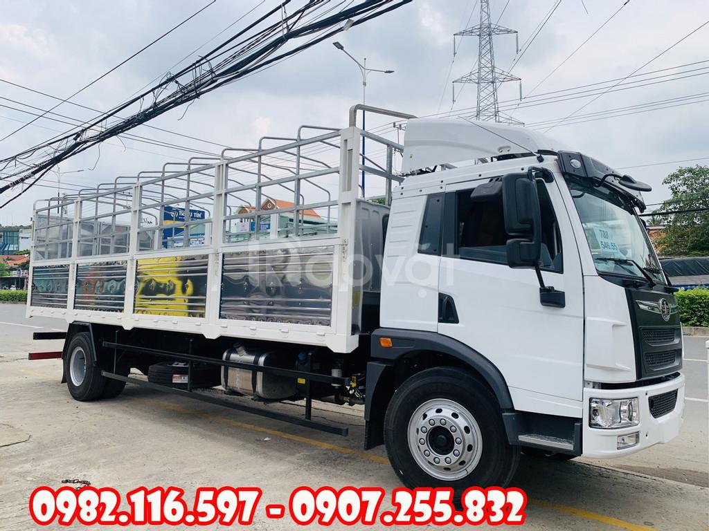 Xe tải faw 8 tấn thùng dài 8 mét - xe tai faw 8 tấn thùng chở tủ gỗ