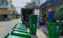 Thùng rác nhựa 240 lít - 120 lít - xe đẩy rác 660L