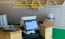 Bán máy tính tiền cảm ứng giá rẻ cho quán trà sữa tại Bến Tre