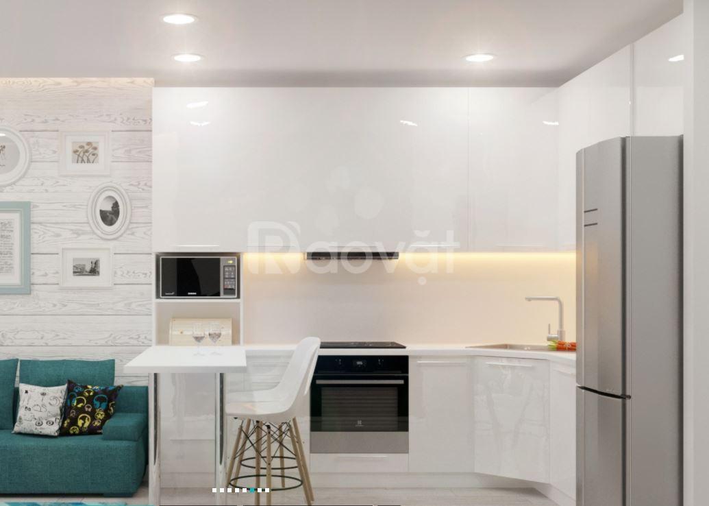 Tủ bếp Acrylic bóng gương giá rẻ