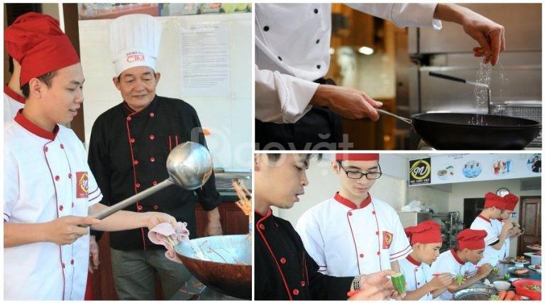 Tuyển sinh Trung cấp Nấu ăn khóa học nghề đầu bếp chuyên nghiệp