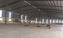 Cho thuê kho xưởng DT 12000m2 KCN Phố Nối, Mỹ Hào, Hưng Yên.