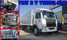 Giá xe tải faw 8 tấn thùng dài 8m| xe tải faw 8 tấn thùng dài