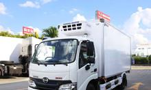 Xe tải Hino XZU650L thùng đông lạnh hỗ trợ vay cao