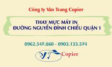 Thay mực máy in đường Nguyễn Đình Chiểu quận 1