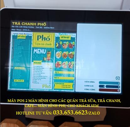 Bán máy tính tiền cho quán trà sữa, trà chanh tại Phan Thiết
