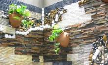 Đá răng lược vàng trang trí tiểu cảnh sân vườn