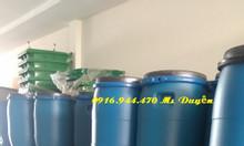 Thùng phuy nhựa 50 lít, thùng đựng hóa chất