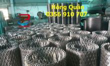 Lưới thép hình thoi, lưới mắt cáo, lưới hình thoi dày 3ly,2ly, 4ly