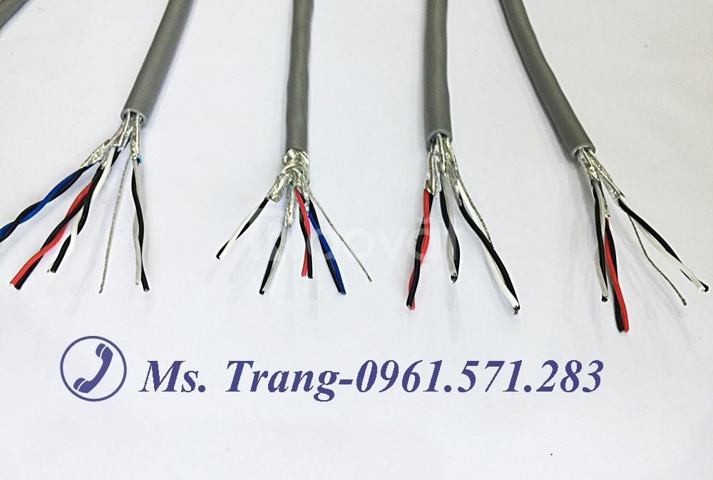 Dây cáp điện 2x0.75, cáp âm thanh 18awg 1pair Altek kabel