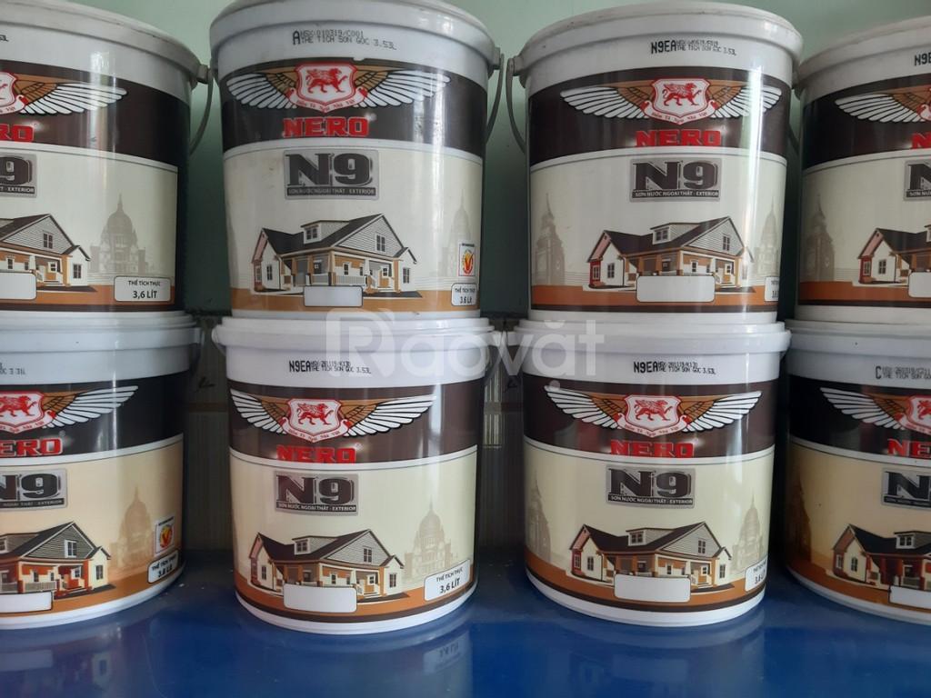 Giảm giá sơn nước Nero N9 ngoại thất bóng mờ