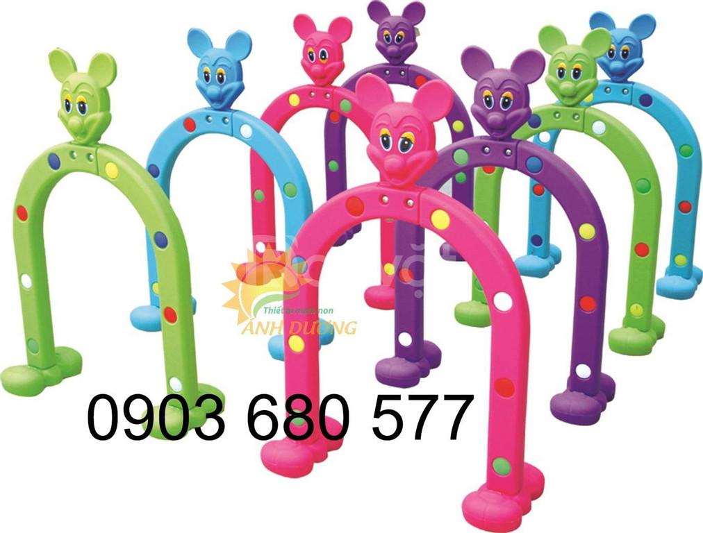 Cung cấp cổng chui vận động hình thú dành cho trẻ em mầm non
