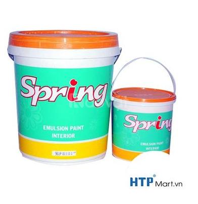 Sơn nội thất Spring For Int màu tươi sáng giá th/18 lít
