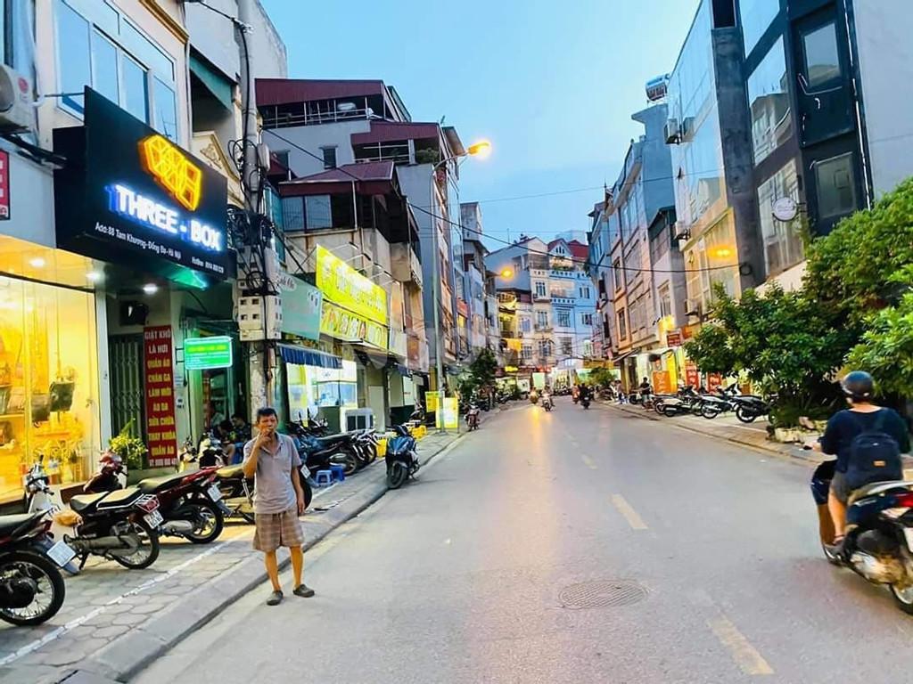 Bán nhà Phố Tam Khương, 120m2, 6.5m mặt tiền, ô tô, kinh doanh.