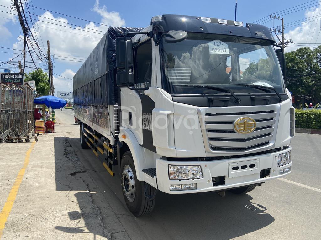 Xe tải Faw 7 tấn thùng dài 9m7 đời 2020