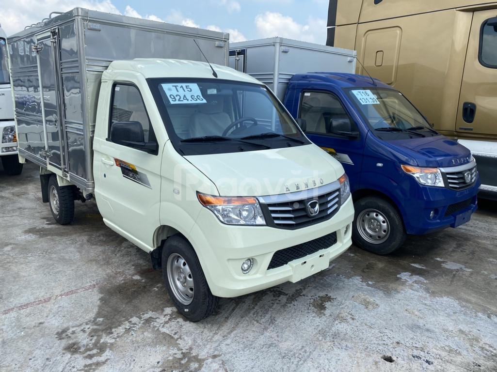 Xe tải kenbo thùng kín 900kg l đời 2020