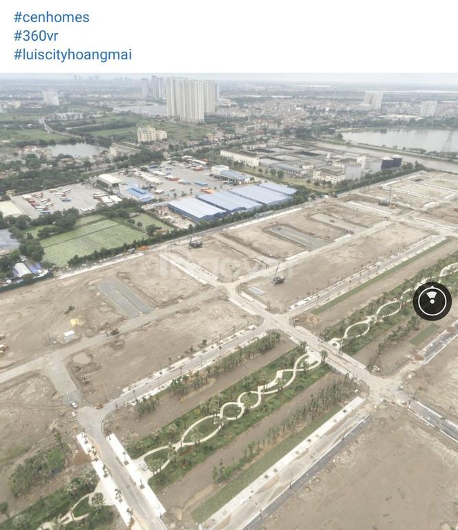 Liền kề biệt thự Louis City Hoàng Mai chỉ từ 80tr/m2