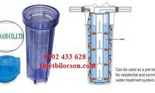 Cốc lọc nước trong 10 inch cho gia đình