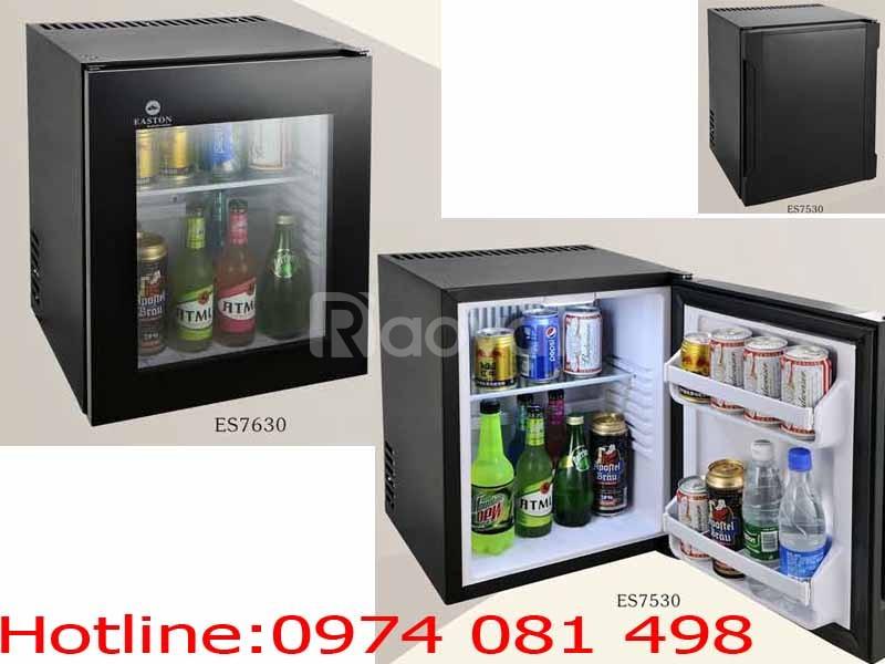 Két sắt, tủ lạnh minibar, thiết bị khách sạn