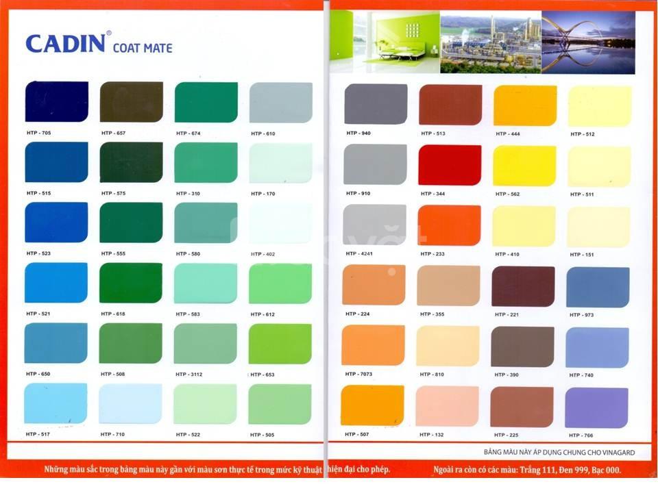 Tìm nhà phân phối sơn phủ Epoxy Cadin kháng hóa chất cho kim loại