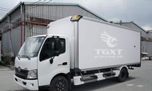 Xe tải Hino XZU730L thùng bảo ôn trả trước 20% giao ngay