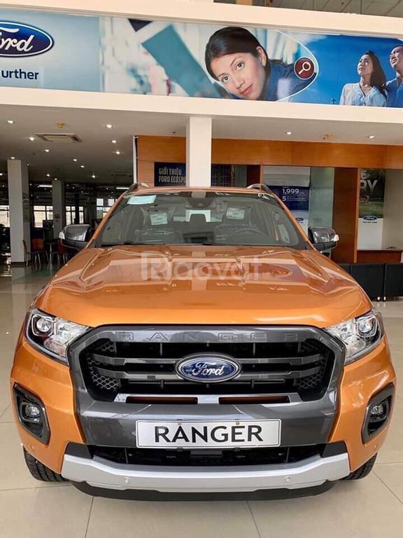 Xe Ford Ranger Wildtrak 2.0L 4X4 AT Bi-Turbo 2020 - 918 Triệu