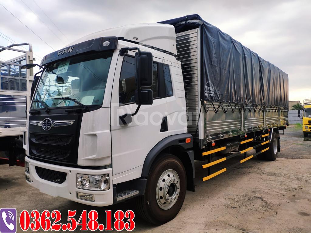 Xe tải faw 8 tấn thùng dài 8m đời 2020 | Hỗ trợ vay cao