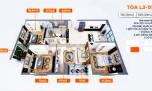 Mở bán căn hộ chung cư cao cấp chỉ từ 1tỷ5 đủ diện tích từ 50m - 106m2