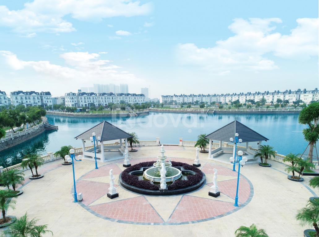 Cần bán  lô đất 200m2 biệt thự ven hồ điều hòa khu đô thị Lideco
