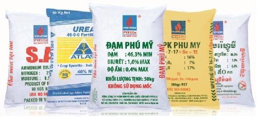 Bao đựng gạo, bao đựng phân bón 20kg, 50kg, bao ghép màng