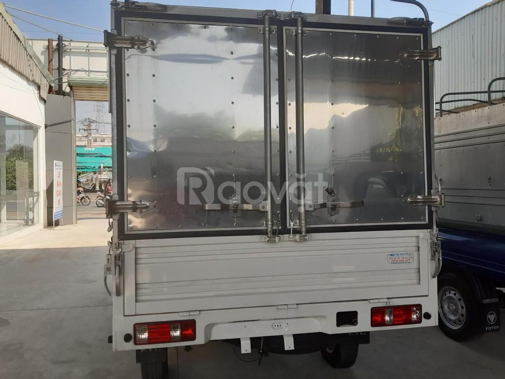 Xe tải Trường Giang T3 cabin đơn thùng lững