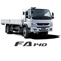 Fuso FA140 thùng lửng tải trọng 5.7 tấn