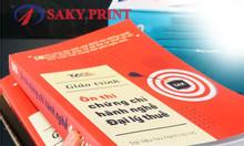 Dịch vụ in sách giá rẻ Bình Thạnh TP HCM