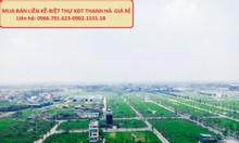 Cần bán gấp đất biệt thự Thanh Hà, Hà Đông giá cắt lỗ rẻ nhất