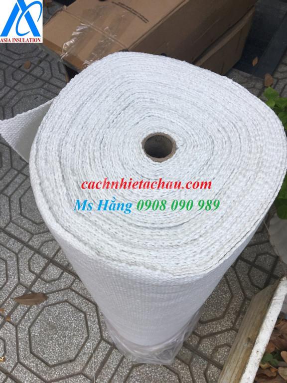 Vải bố Ceramic phủ chống cháy 1260 độ C