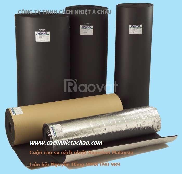Giới thiệu các loại cao su Superlon Malaysia cách nhiệt điện lạnh