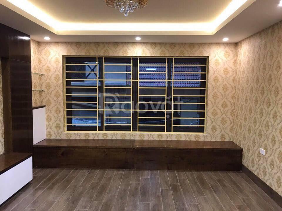 Bán nhà khu phân lô VIP Lô Đền Lừ,Tân Mai, 55 m2 x 6 tầng