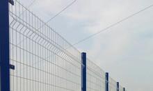 Hàng rào lưới thép mạ kẽm, hàng rào gập 2 đầu
