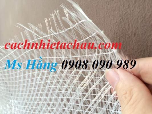 Cuộn lưới thủy tinh Fiber Glasss Mesh dùng cho chống thấm, nứt tường