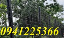 Hàng rào lưới thép mạ kẽm sơn tĩnh điện D4, D5, D6