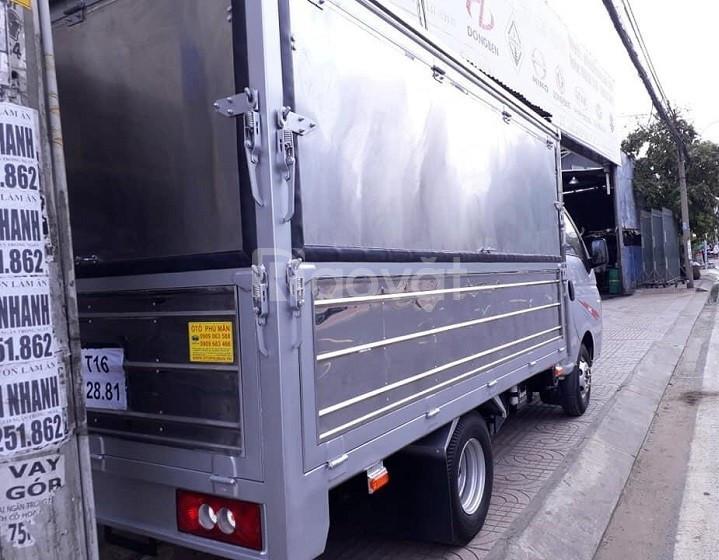 Bán xe tải Jac 1T45 thùng kín cánh dơi mới 2020