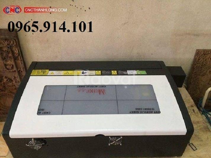 Máy laser 3020, máy laser khắc dấu, máy laser mini giá rẻ