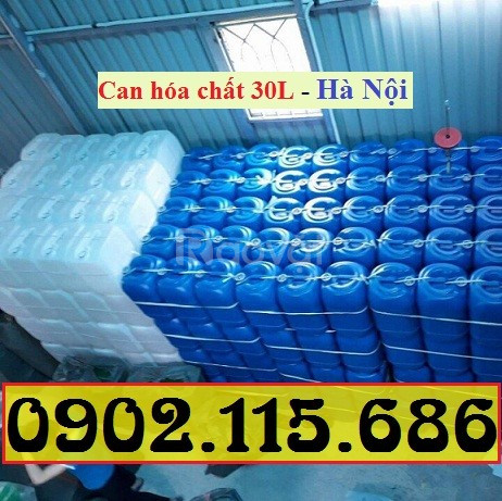 Can nhựa đựng hóa chất 30l, can nhựa 30l đựng hóa chất