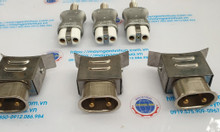 Phích cắm chịu nhiệt 35A sử dụng cho máy nhựa