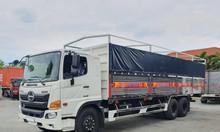 Xe tải Hino FM thùng bạt giá cạnh tranh giao xe nhanh